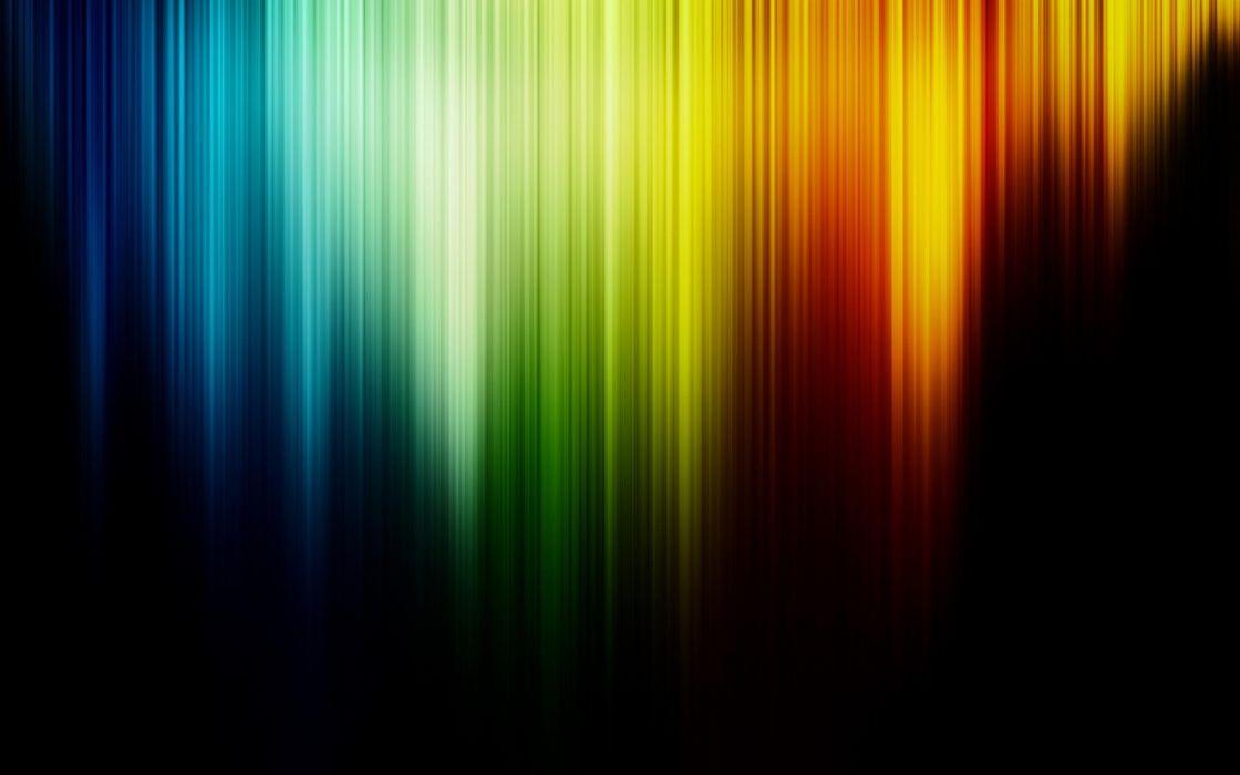 Abstract multicolor rainbows wallpaper