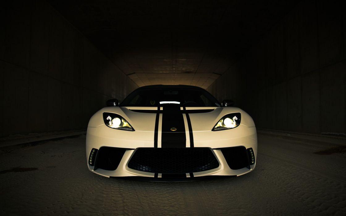 Cars lotus evora gte sportscar wallpaper