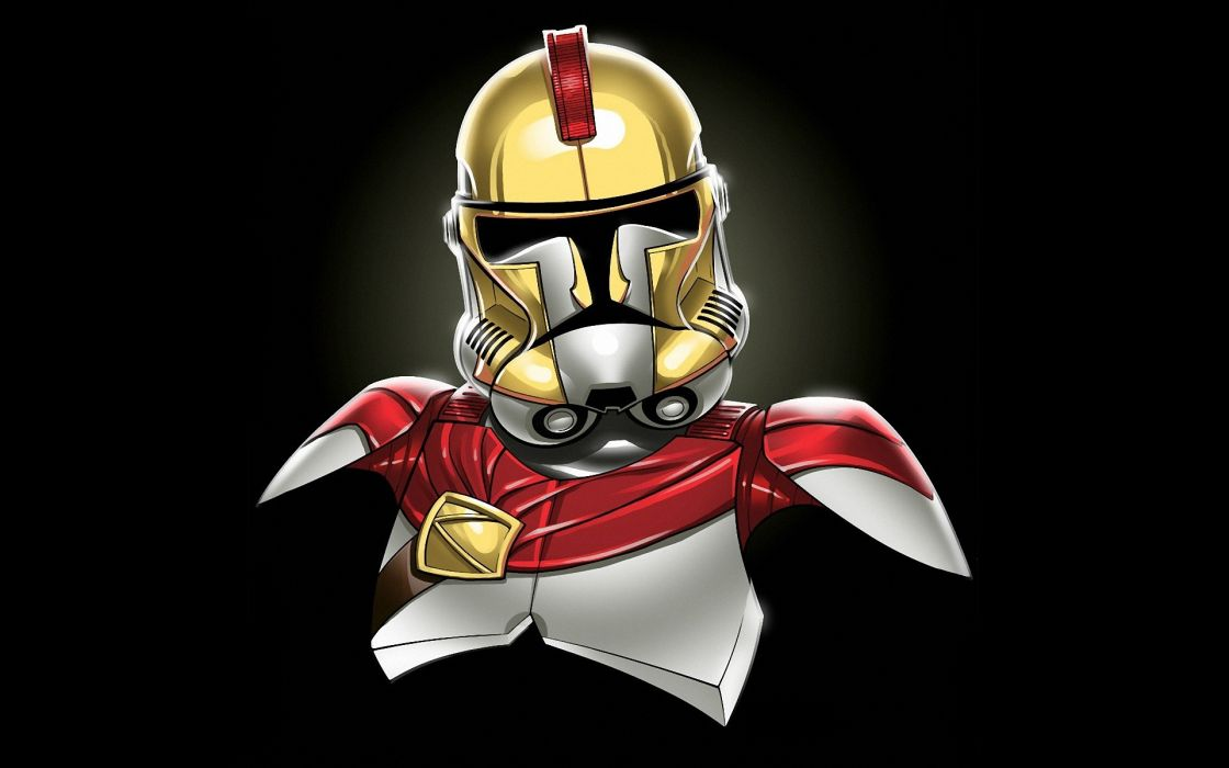 Star wars minimalistic  (movie) leonidas stormtroopers wallpaper