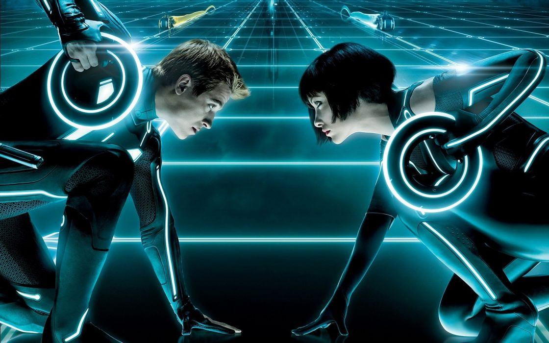 Movies tron legacy quorra wallpaper
