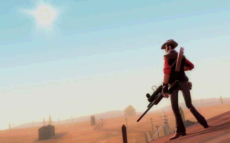 Team fortress sniper tf wallpaper