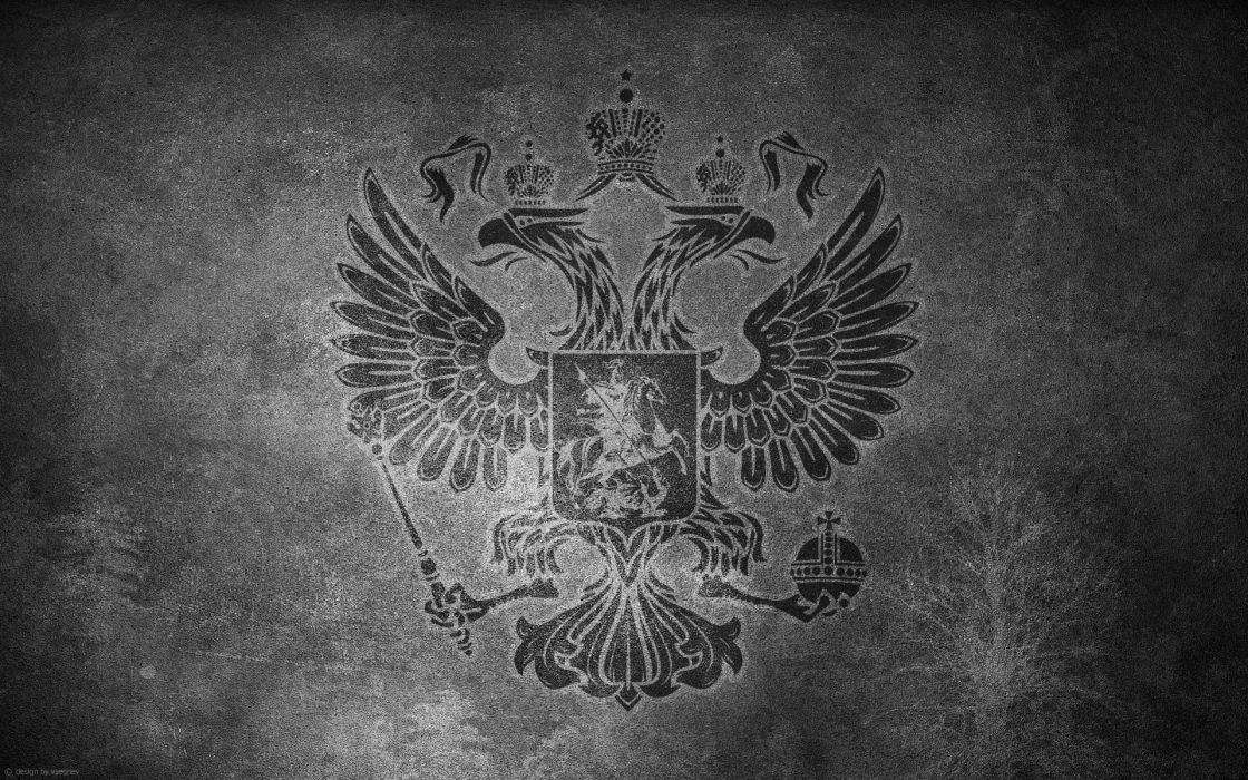 Russia monochrome wallpaper
