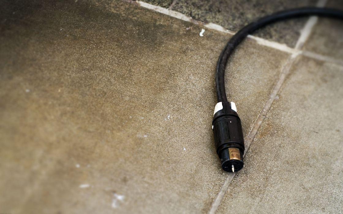 Minimalistic plug wallpaper