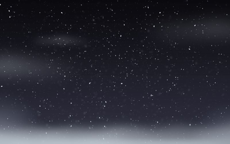 Snowflakes skyscapes wallpaper