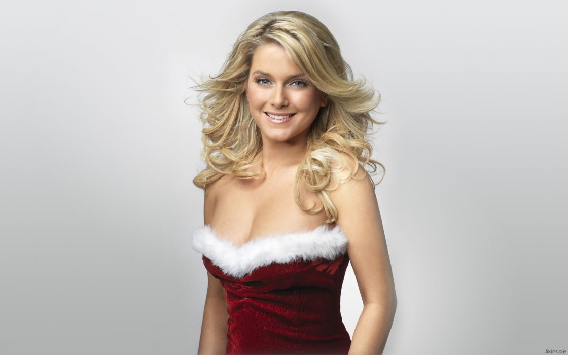 Blondes women christmas jeanette biedermann wallpaper