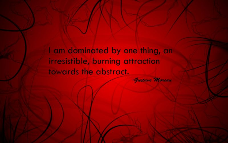Abstract red quotes red background attractions wallpaper