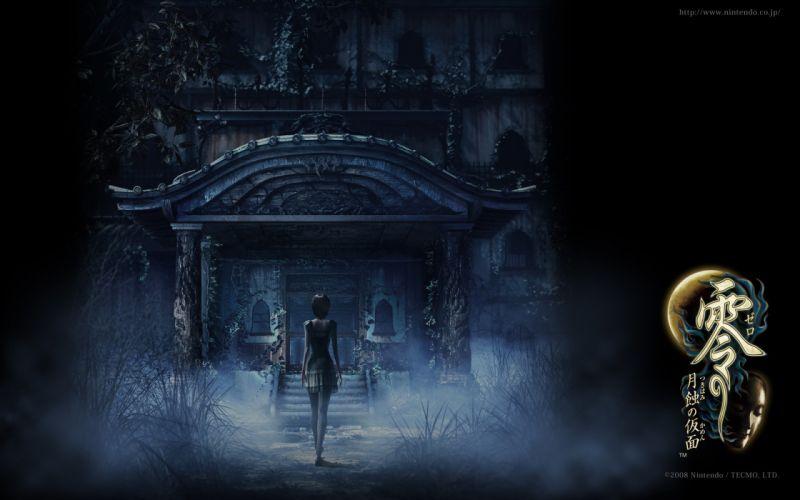 Horror japan video games fatal frame wallpaper
