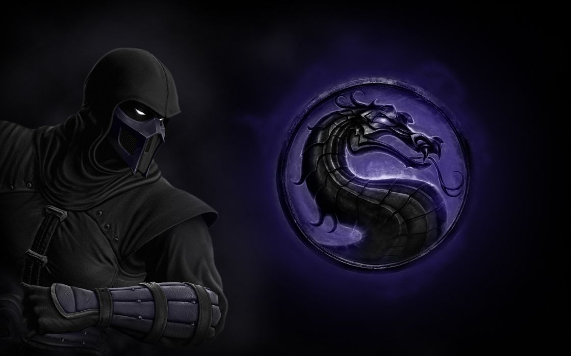 Video games mortal kombat noob saibot mortal kombat logo wallpaper