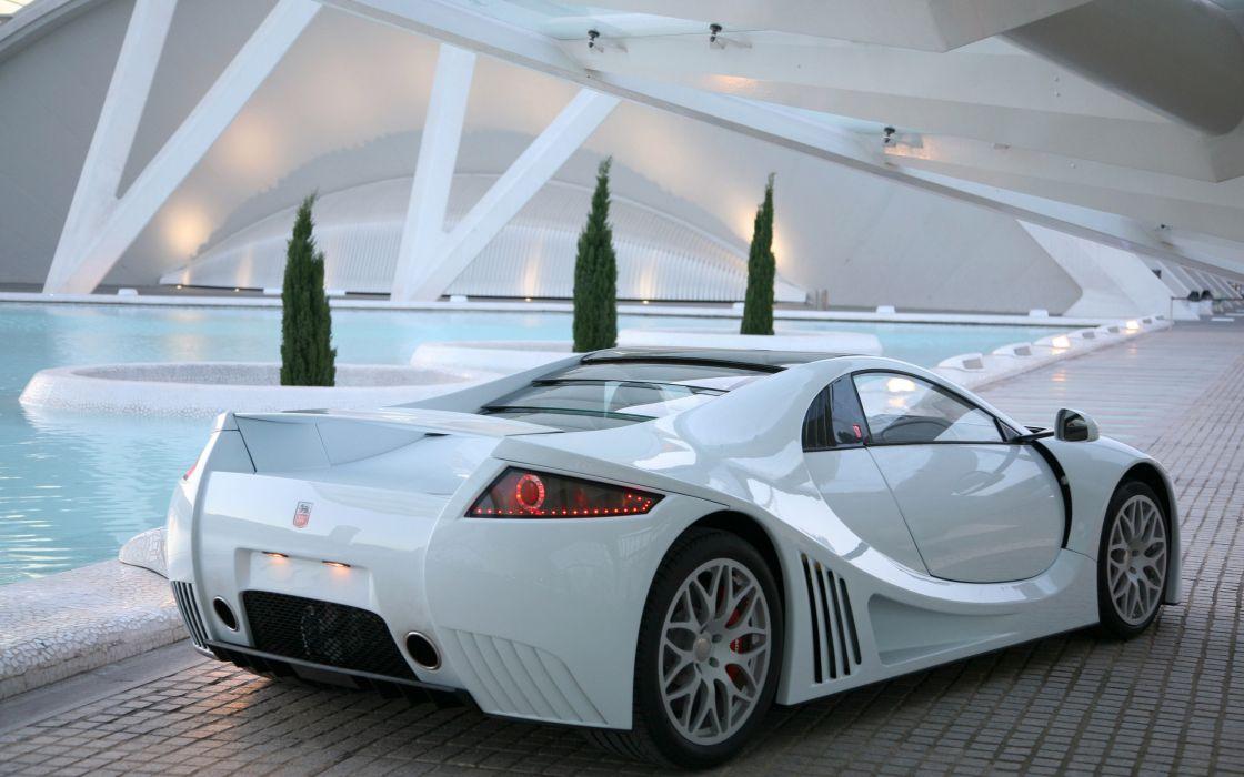 Cars gumpert apollo white cars wallpaper
