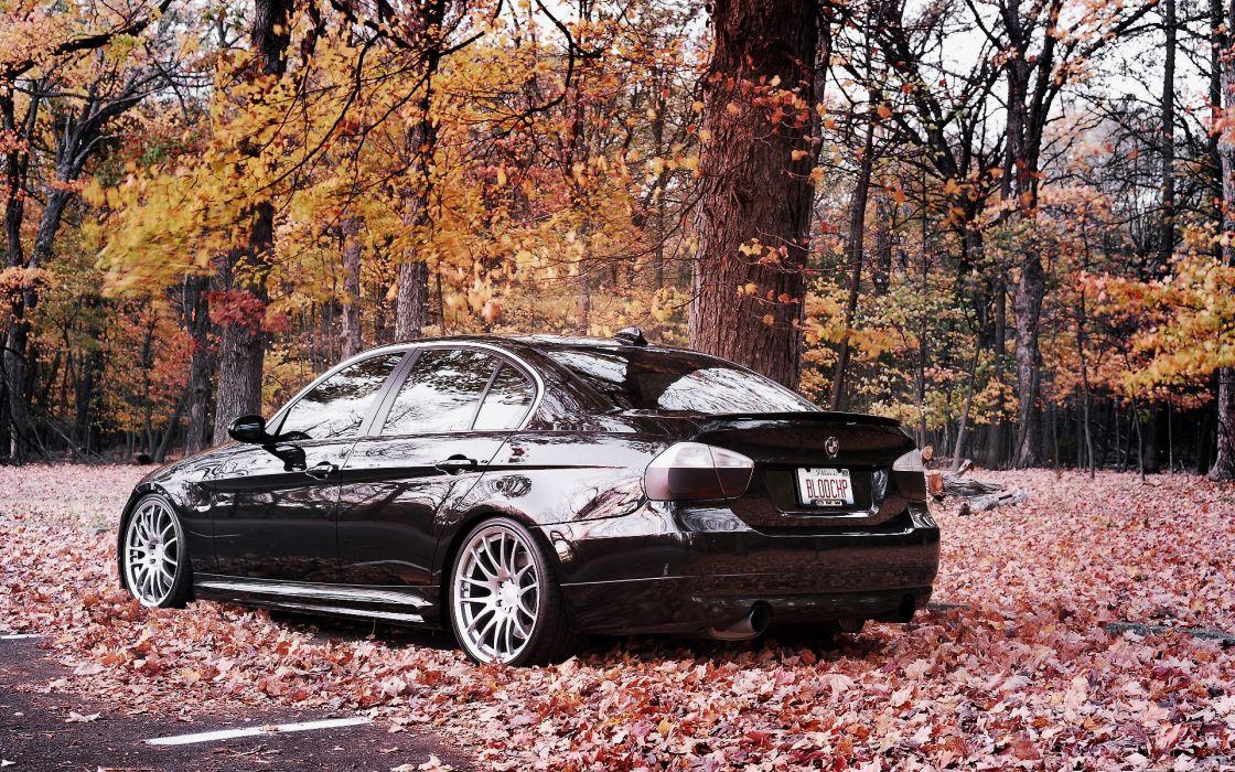 Bmw autumn cars wallpaper