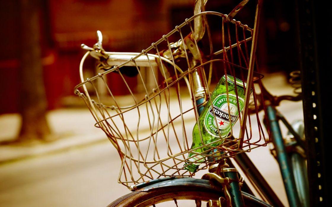 Beers bicycles heineken wallpaper