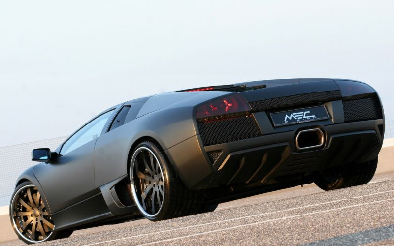 Black cars lamborghini vehicles lamborghini murcielago lp640 low-angle shot wallpaper