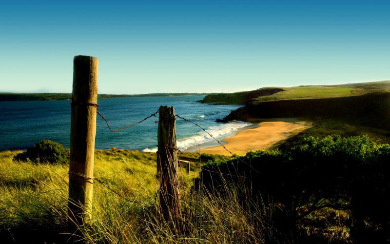 Landscapes nature beach wallpaper