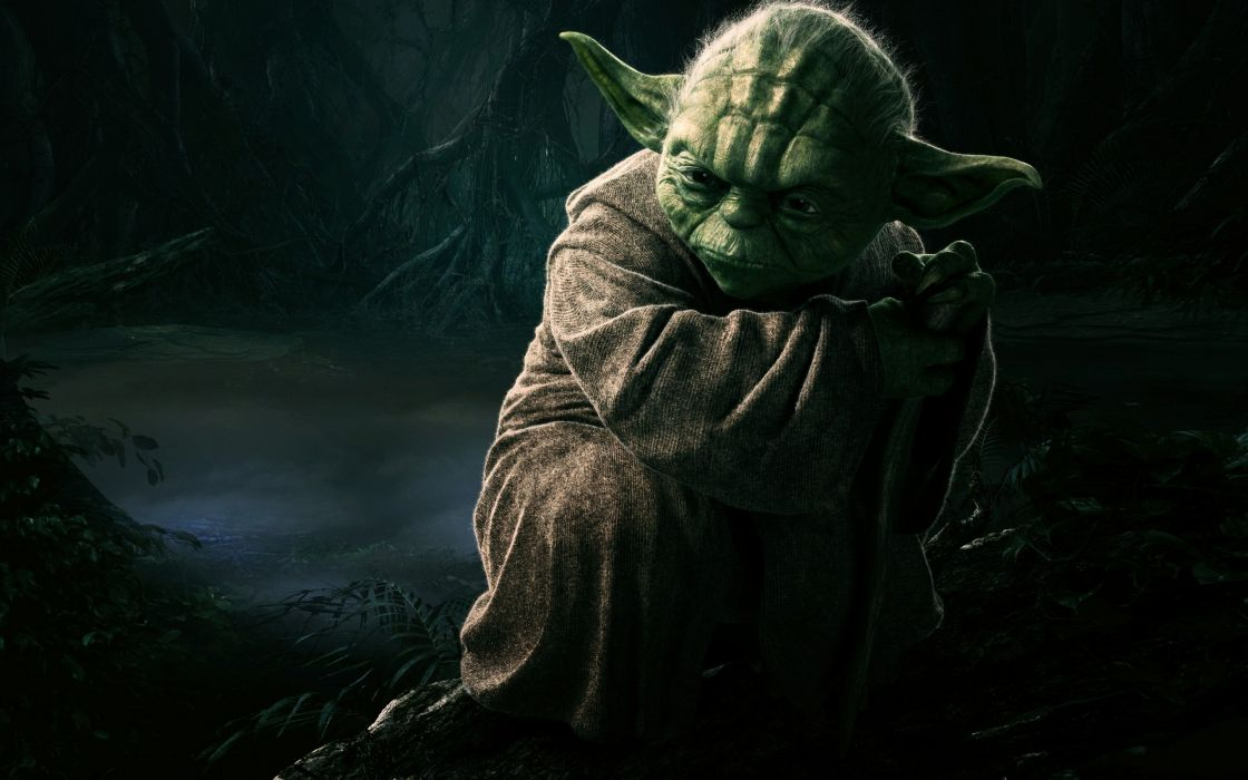 Star wars cgi jedi yoda wallpaper