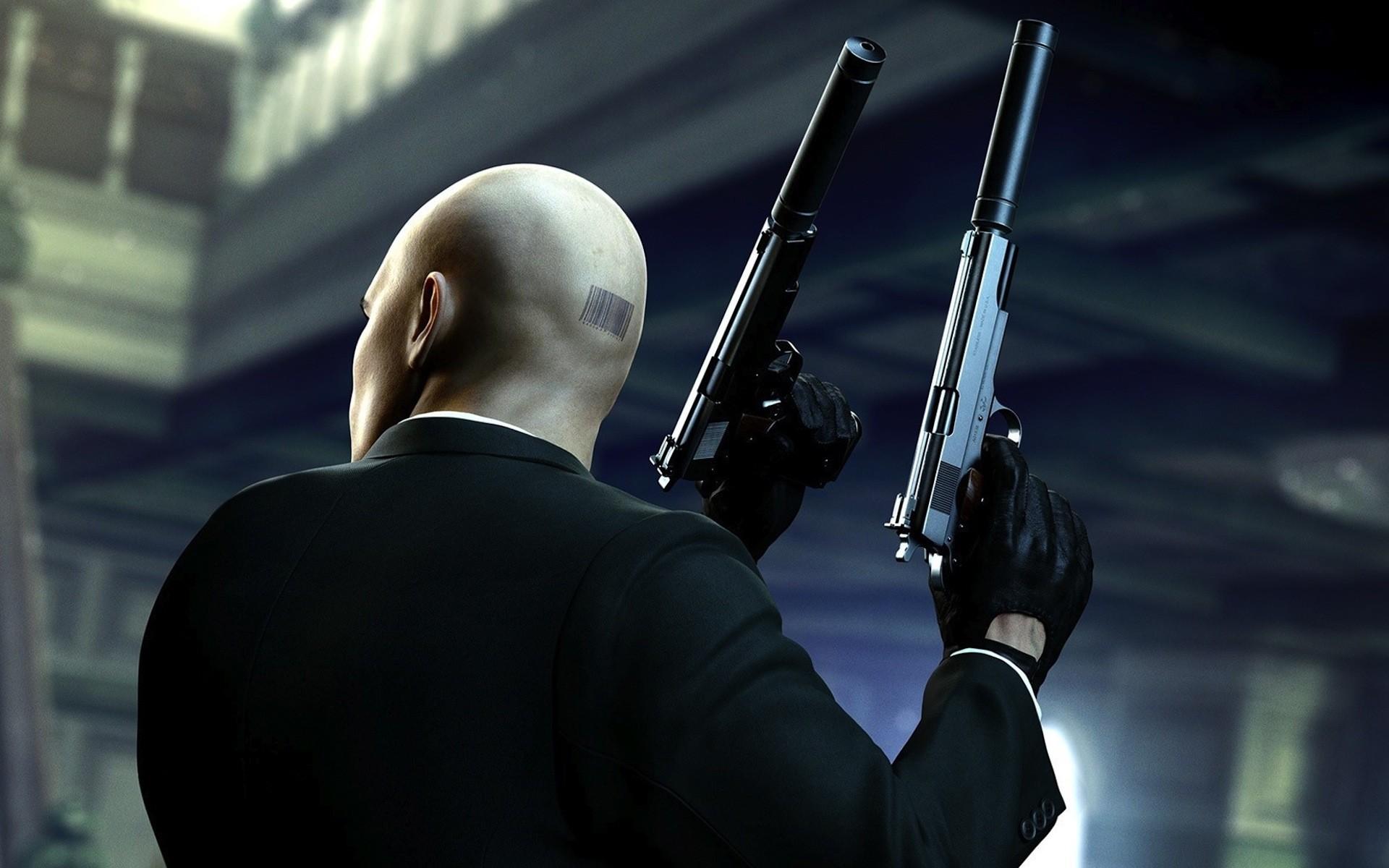 Video games guns hitman hitman absolution agent 47 wallpaper 1920x1200 10436 wallpaperup - Hitman 47 wallpaper ...