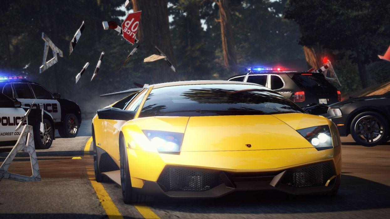 Cars lamborghini need for speed games wallpaper