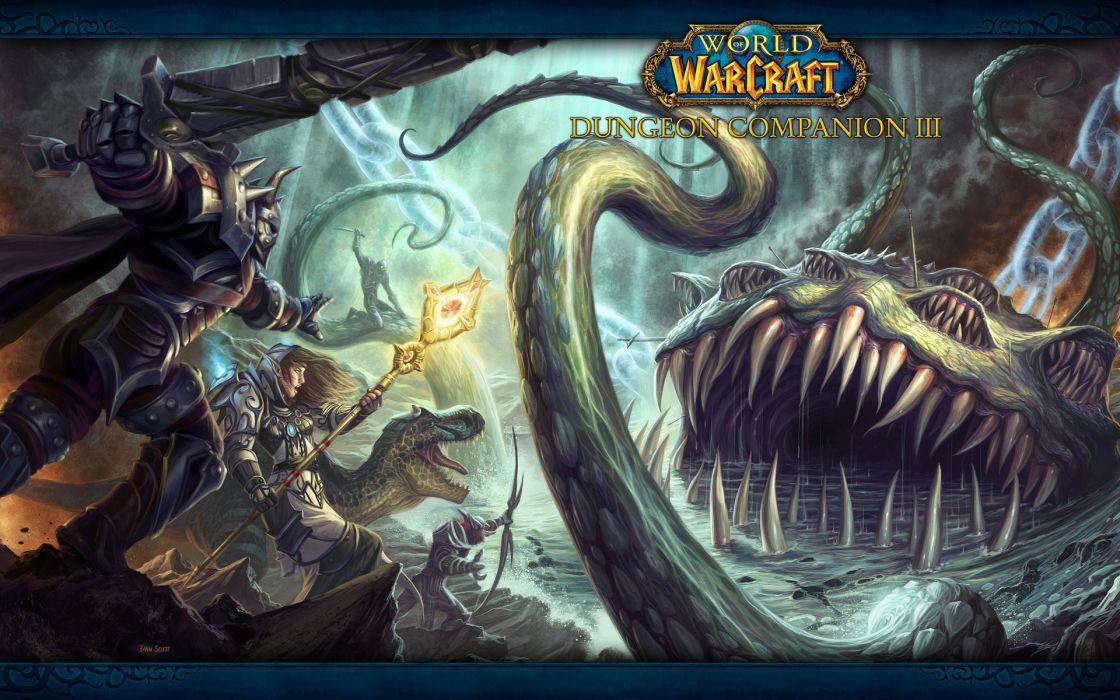 World of warcraft fantasy art companion wallpaper