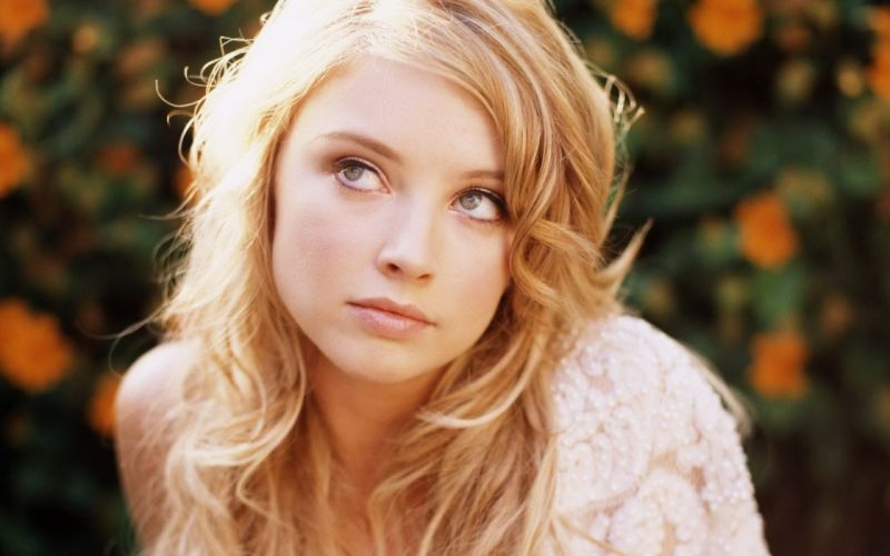 Blondes women close-up eyes elisabeth harnois faces wallpaper