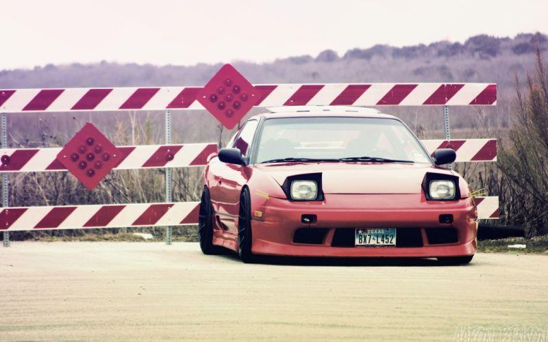 Cars nissan tuning nissan 180sx nissan silvia s13 jdm wallpaper