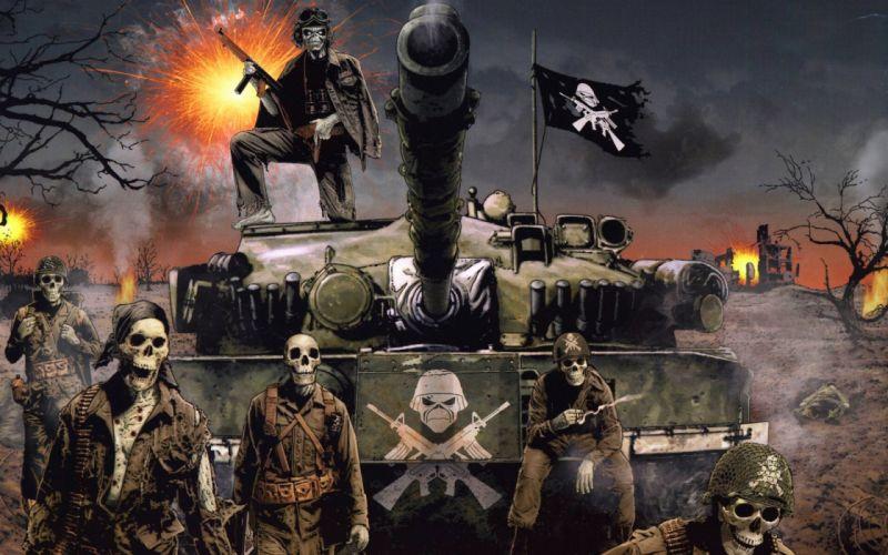 War iron maiden wallpaper