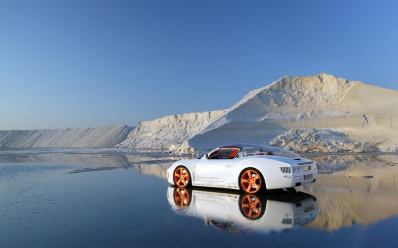 Mountains snow cars prototypes vehicles concept cars wallpaper