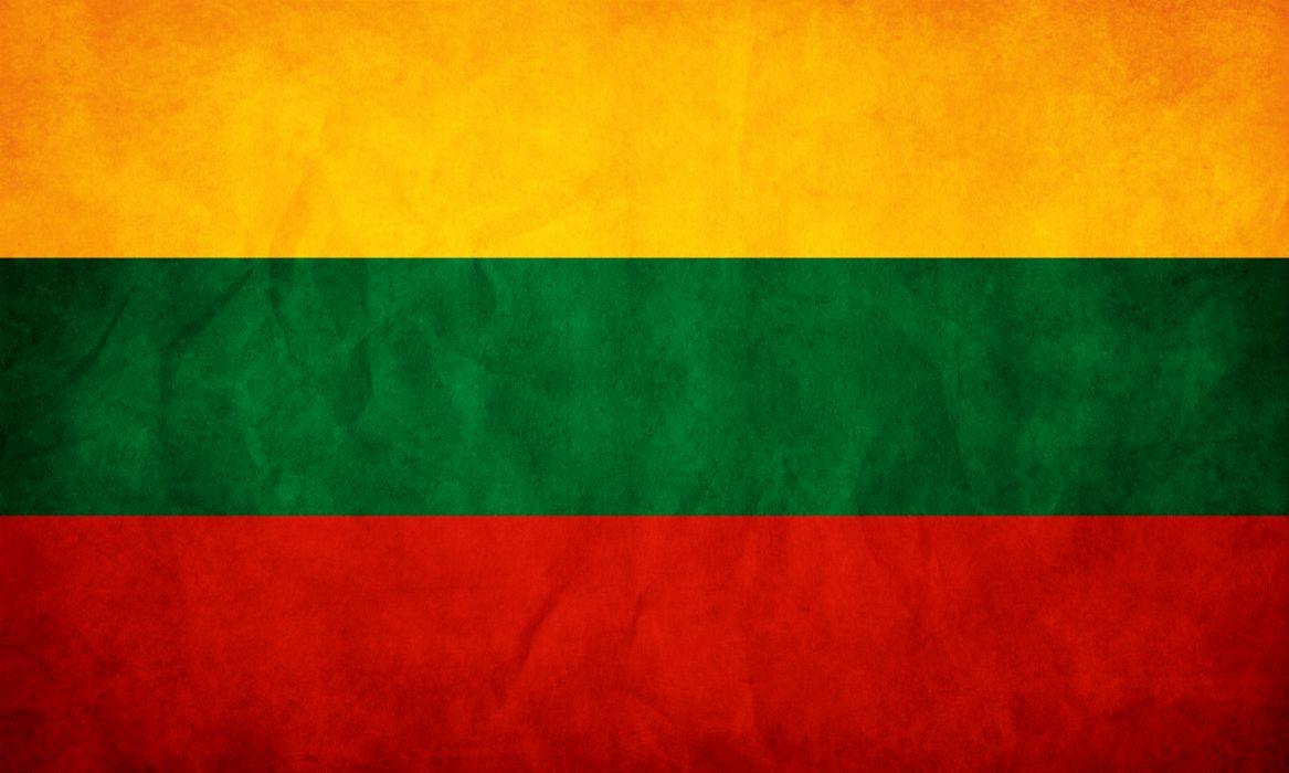 Lithuania flag wallpaper