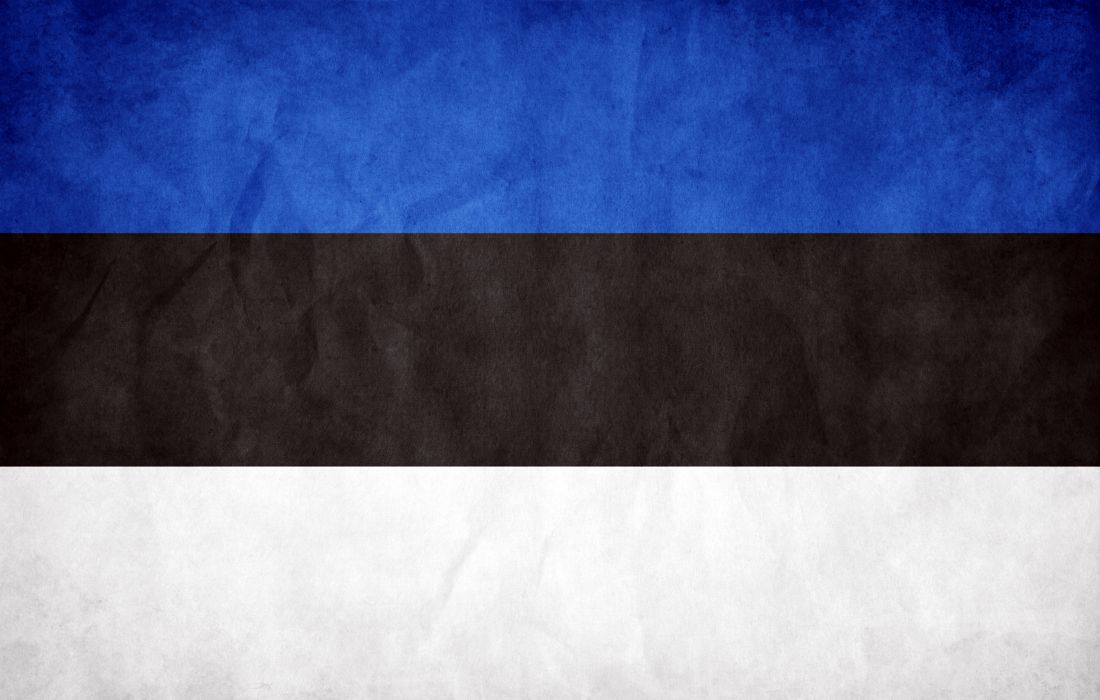 Estonia flag wallpaper