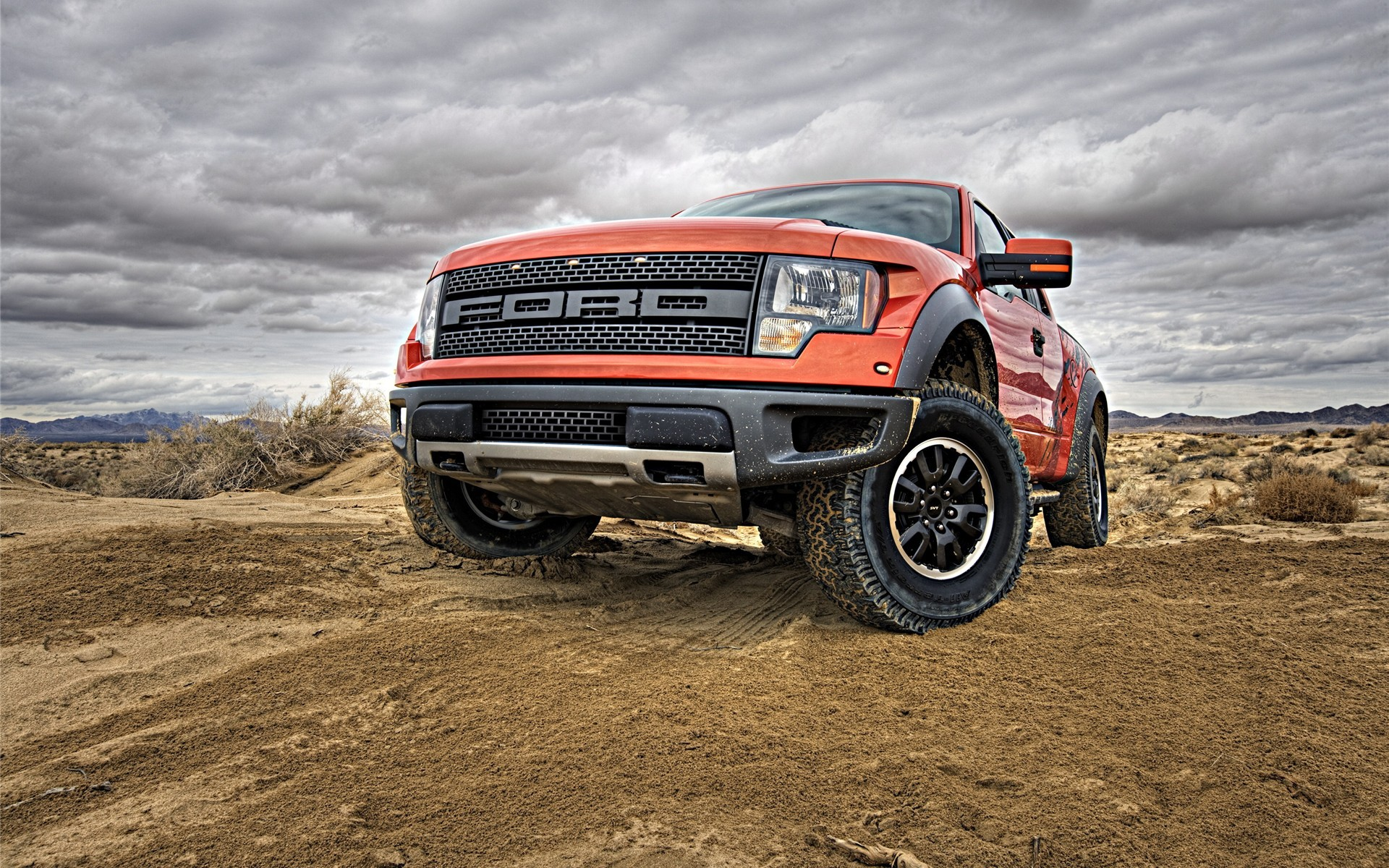Cars Ford Pick Up Trucks Vehicles F150 Svt Raptor Wallpaper