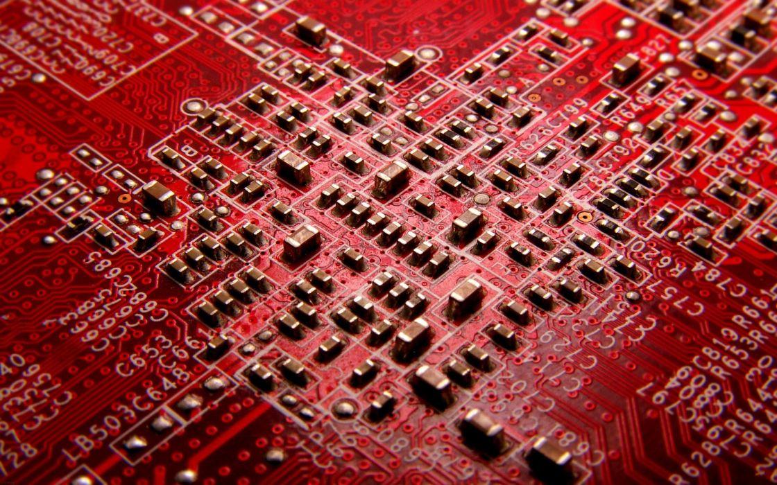 Chip computer technology wallpaper