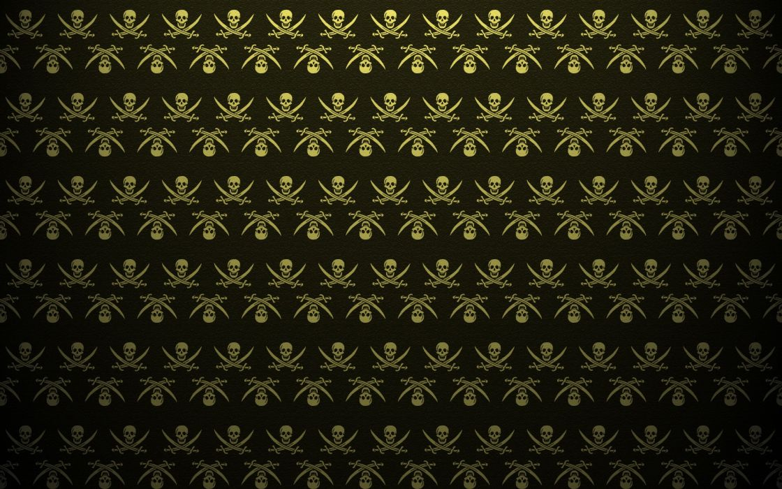 Abstract skulls death pattern pirates the pirate bay textures artwork skull and crossbones backgrounds swords wallpaper