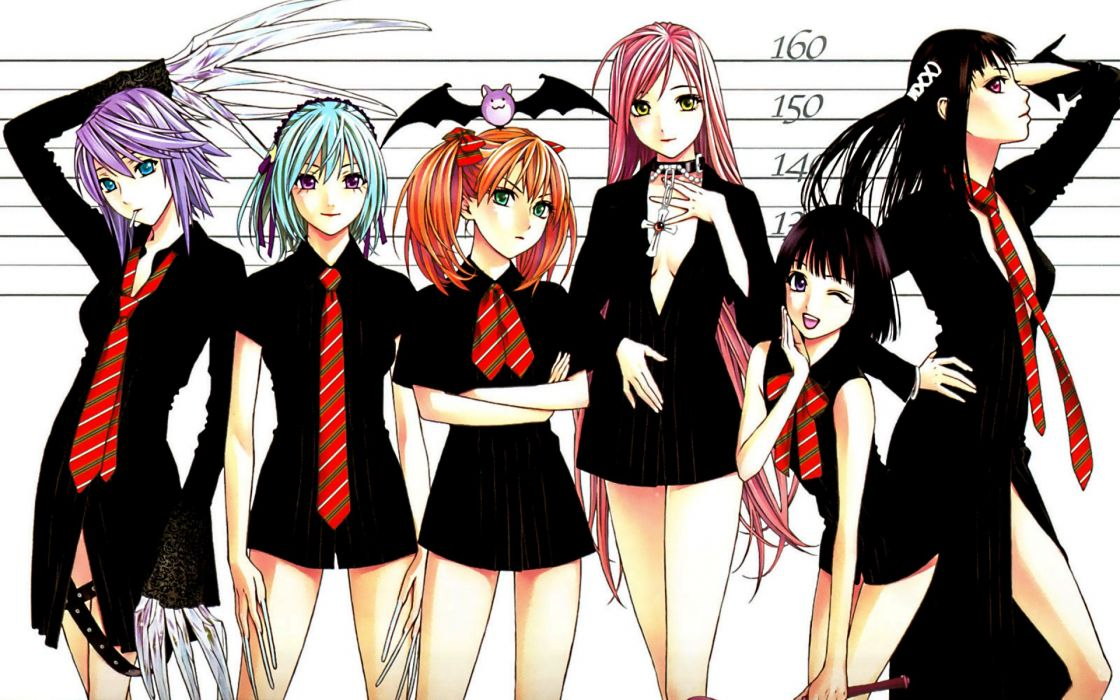 Rosario to vampire wallpaper