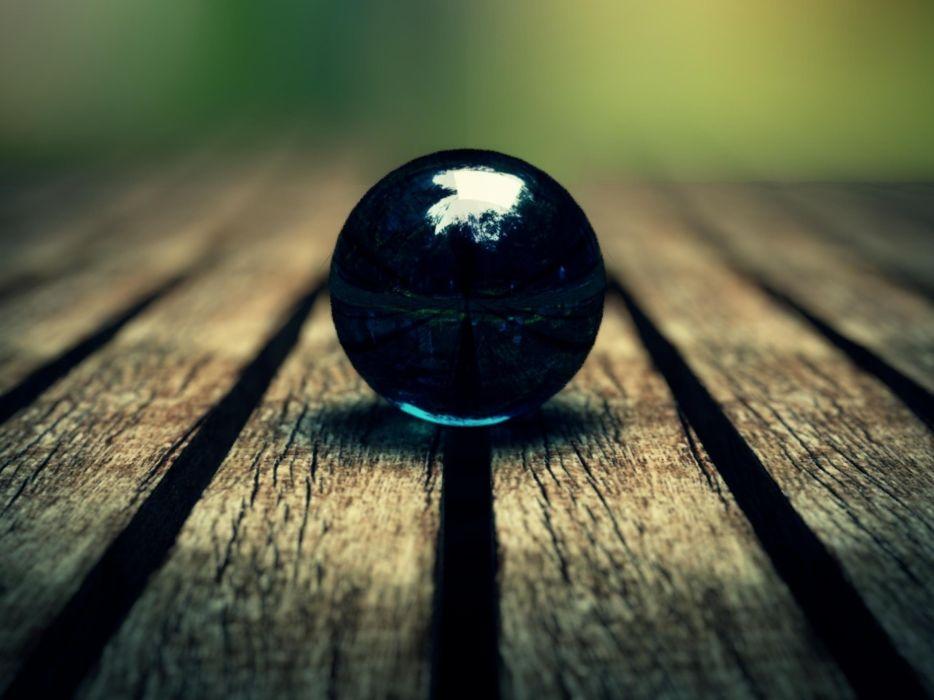 Blue nature wood balls focus globes deck marble globe wallpaper