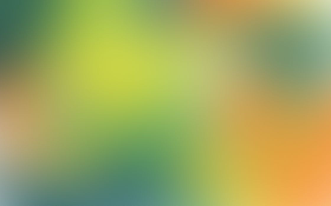 Green minimalistic gaussian blur wallpaper