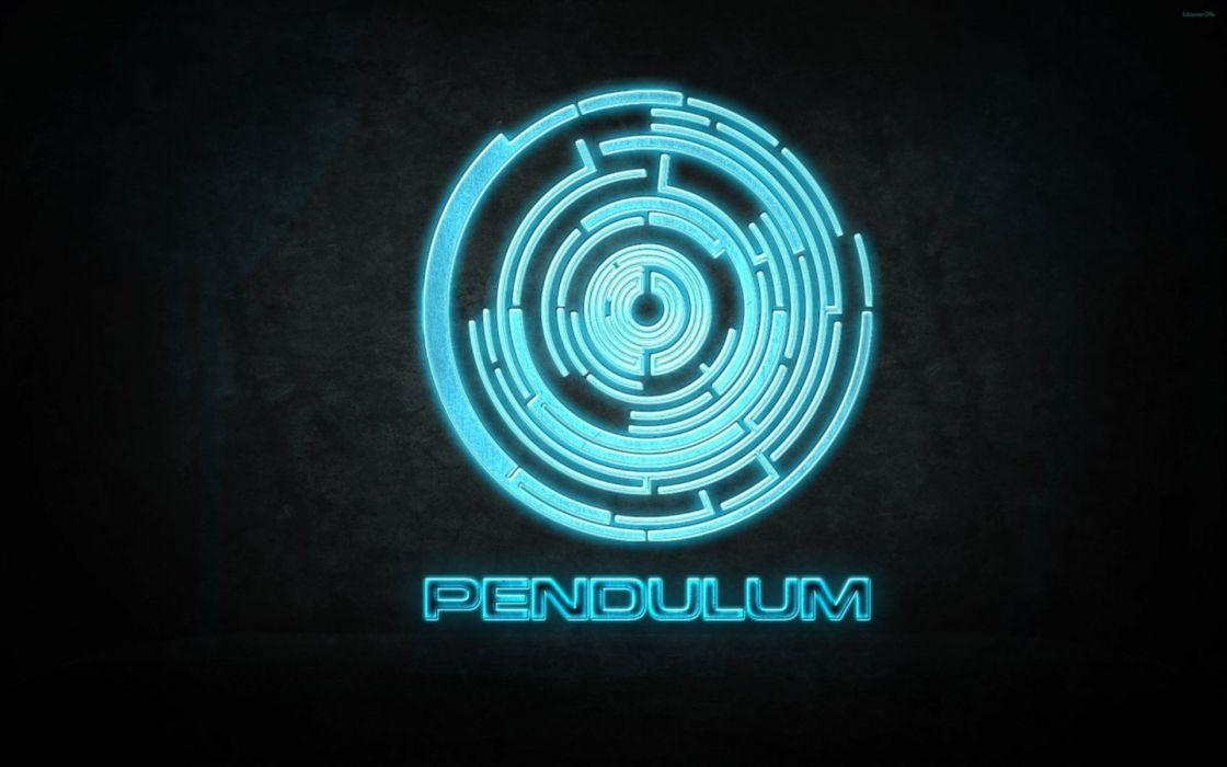 Abstract music pendulum logos wallpaper