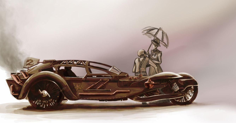Cars steampunk wallpaper