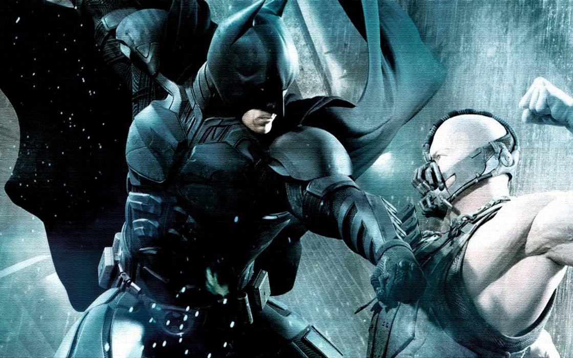 Batman Movies Fight Bane Batman The Dark Knight Rises