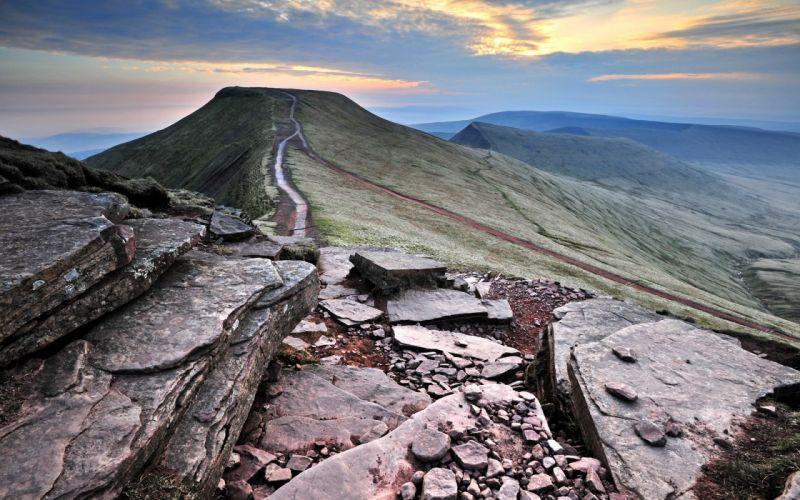 Mountains landscapes shale landspaces wallpaper
