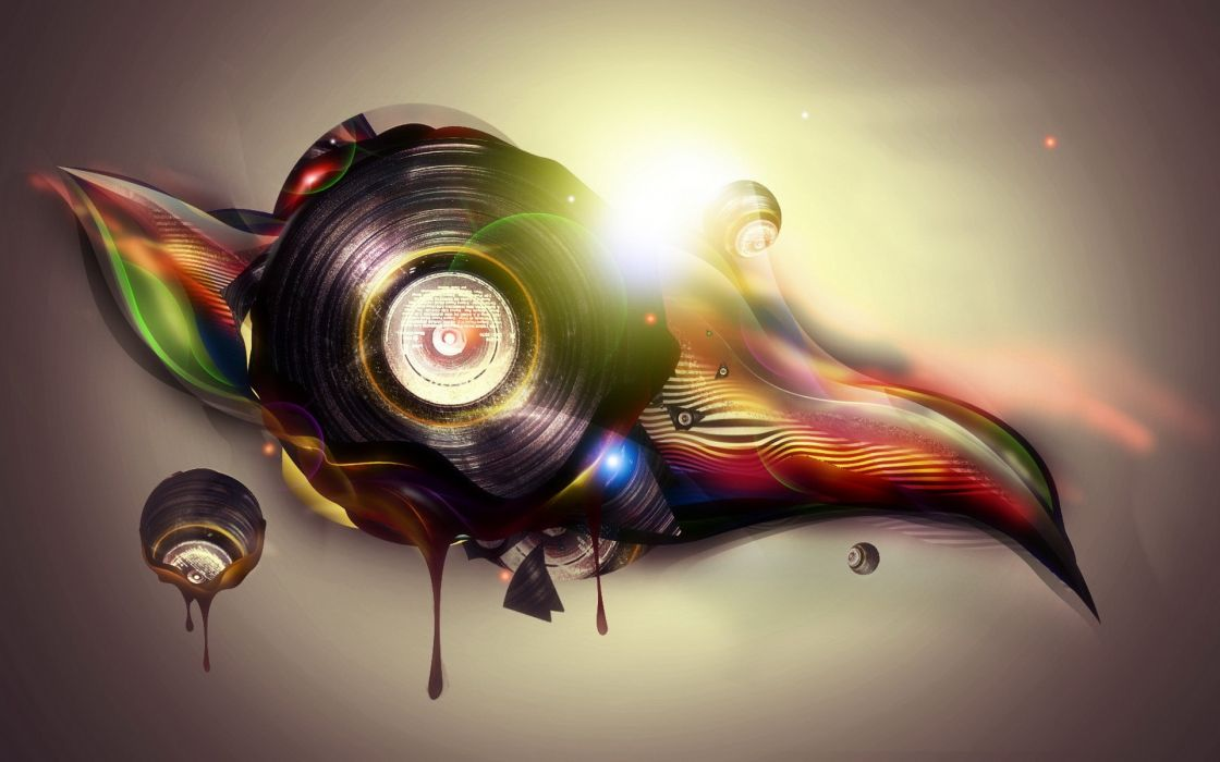 Music creative wallpaper