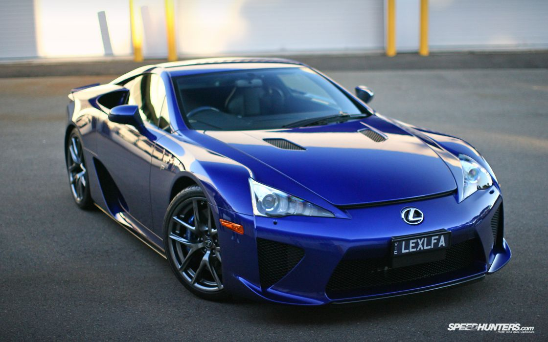 Blue cars lexus lexus lfa blue cars wallpaper