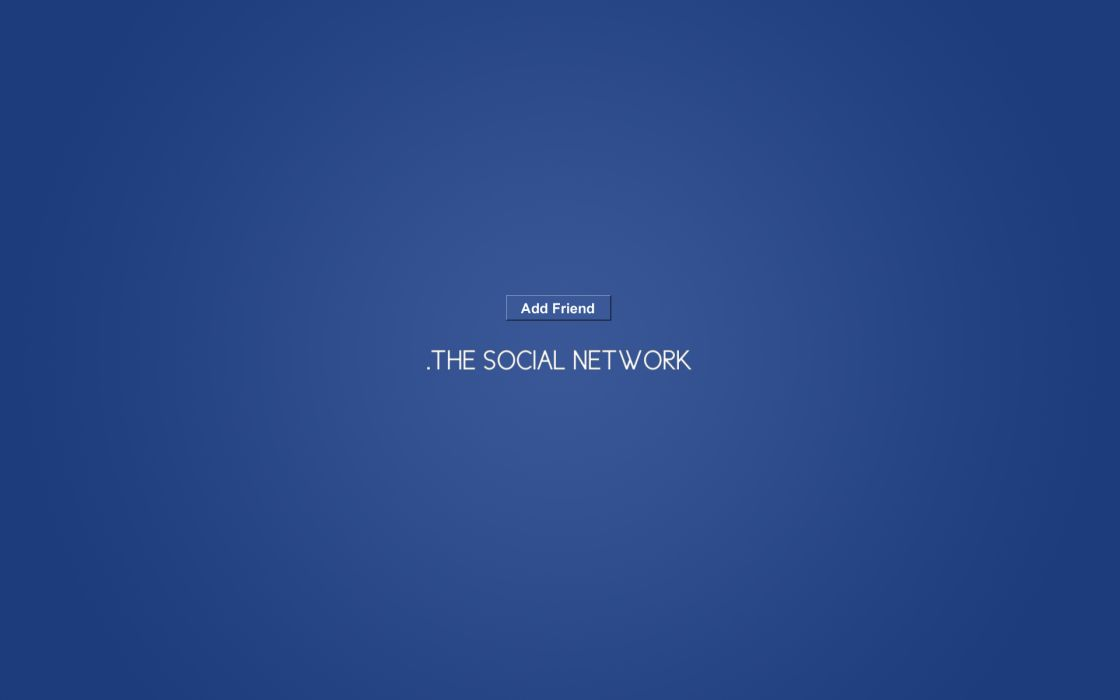 Minimalistic facebook movies the social network wallpaper