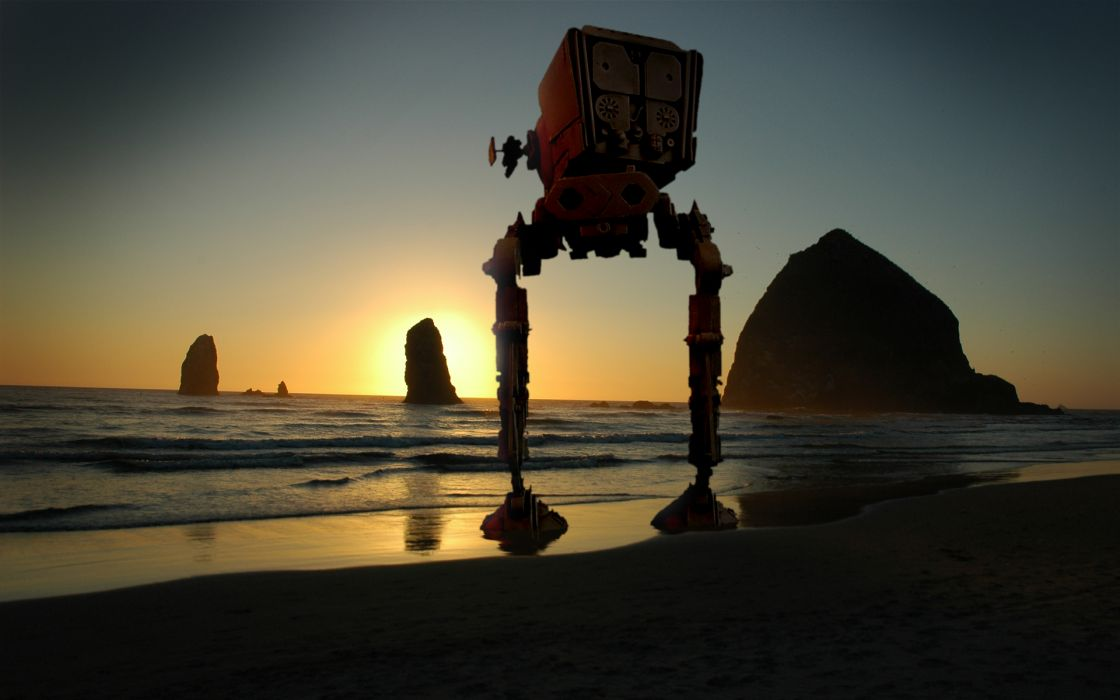 Star wars beach wallpaper