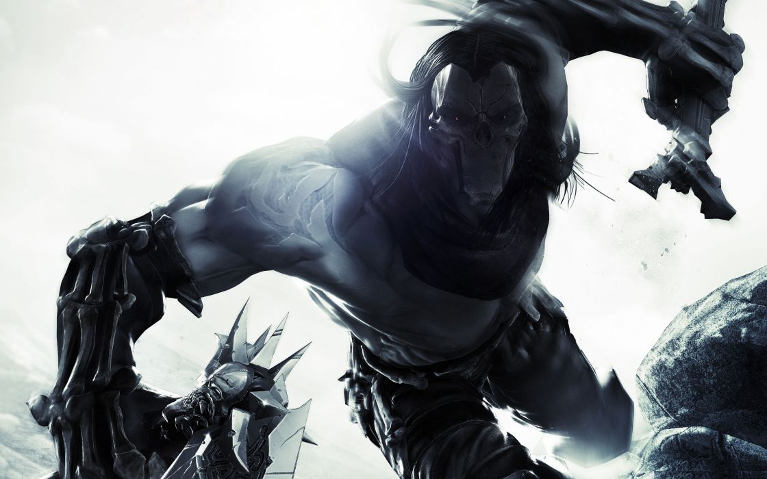 Video games death darksiders wallpaper