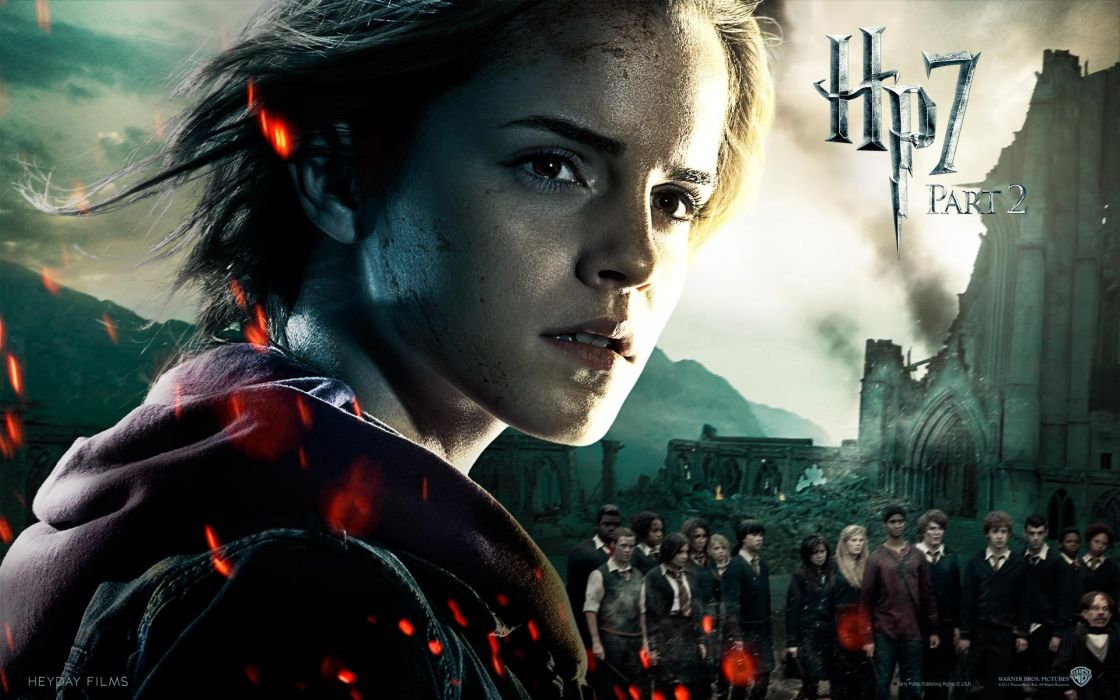 Fantasy emma watson movies film harry potter magic harry potter and the deathly hallows hermione granger movie posters wallpaper