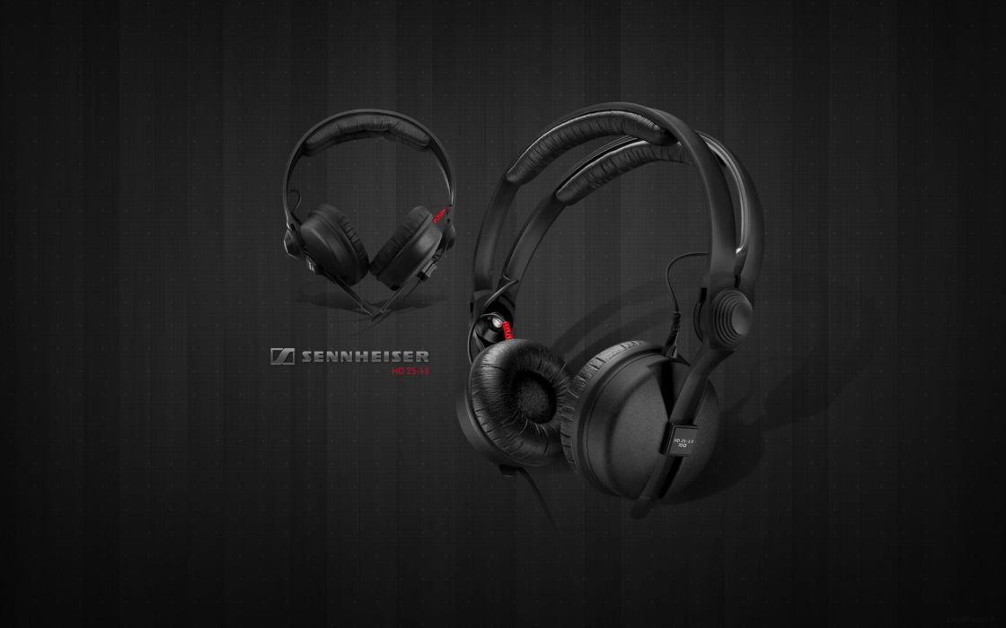 Headphones music sennheiser wallpaper