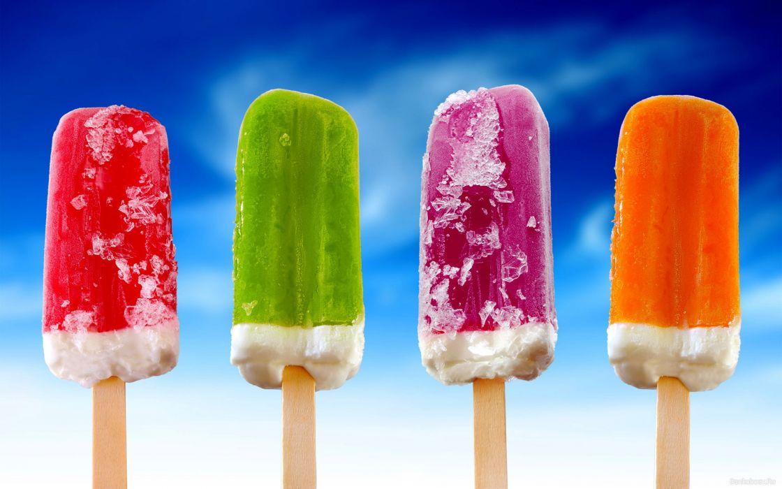 Multicolor ice cream wallpaper
