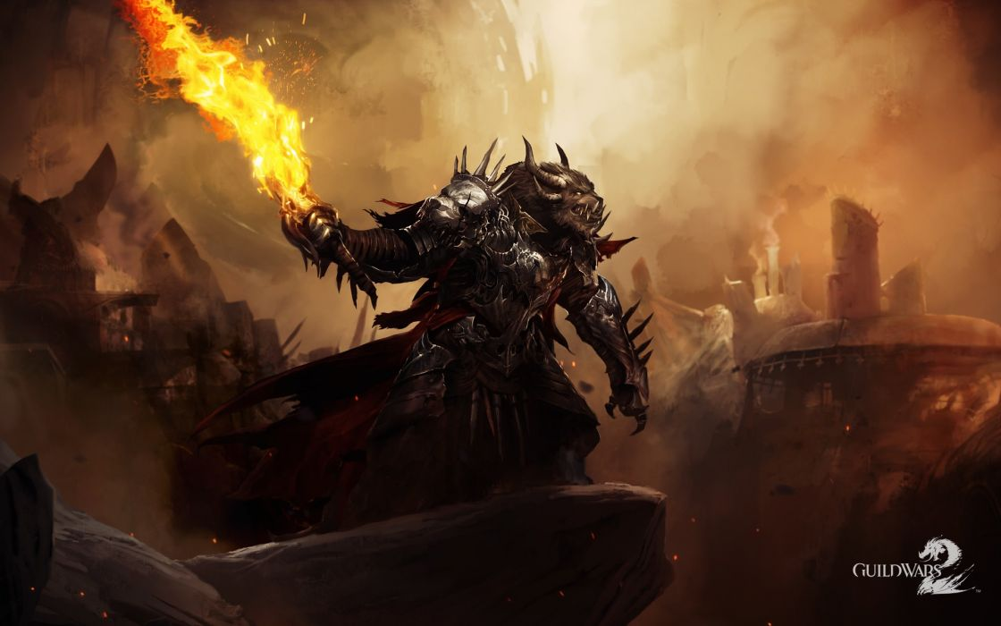 Video games fantasy art guild wars 2 wallpaper