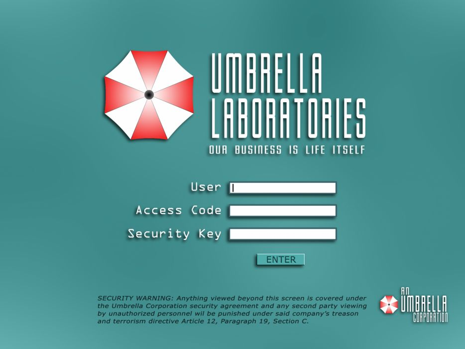 Video games movies resident evil umbrella corp wallpaper