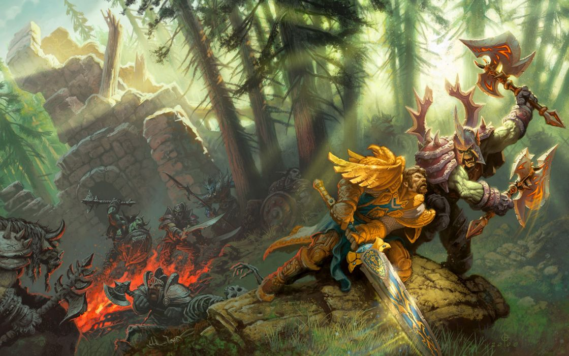 Video games world of warcraft wallpaper
