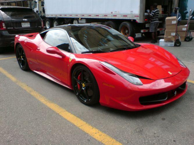 Red cars ferrari vehicles ferrari 458 italia wallpaper