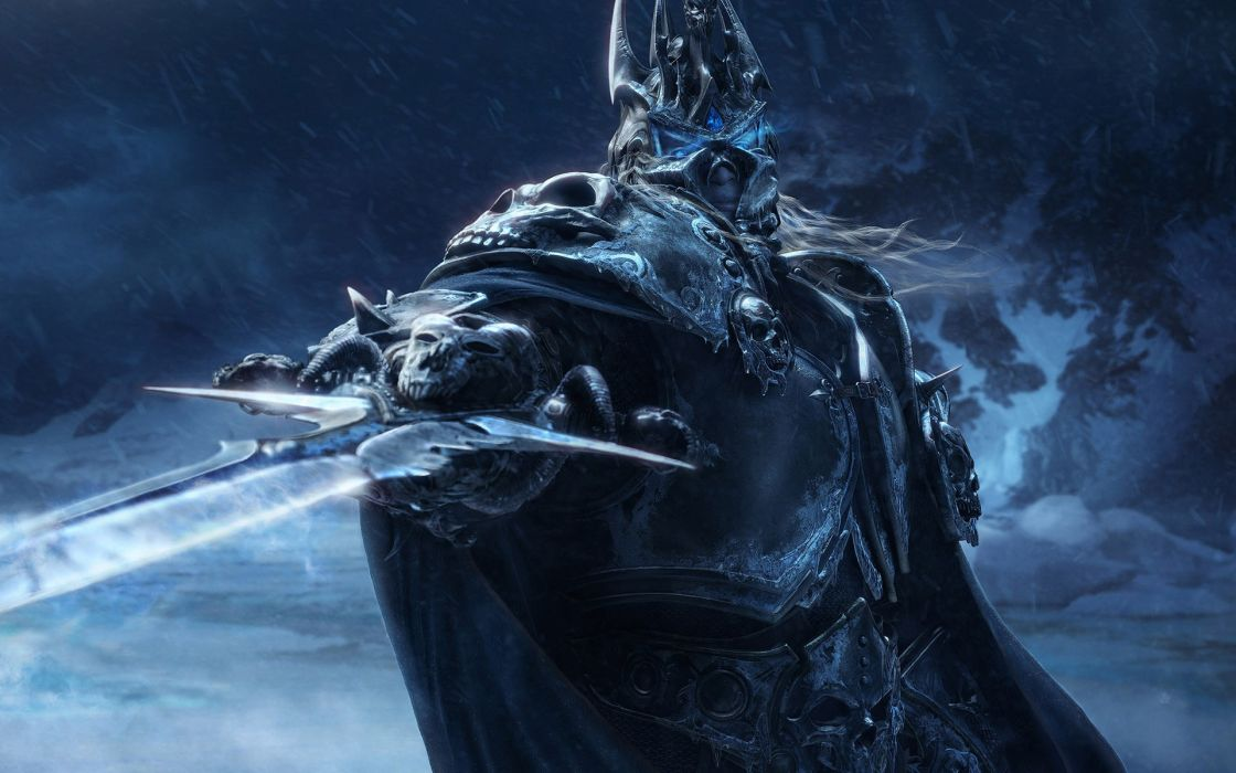World of warcraft cgi lich king artwork wrath of the lich king wallpaper